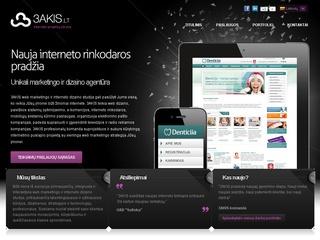 Interneto projektų kūrimas ir dizainas | 3AKIS
