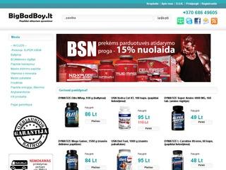 Big Bad Boy – Maisto papildai sportui ir dietai