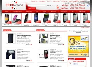 GSM arena – Mobilūs telefonai