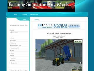 Farming simulator 2011 / 2013 mod