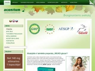 """Farmacinė įmonė """"Aconitum"""""""