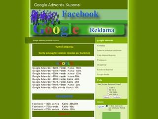 Google Reklama,adwords reklama,facebook marketingas