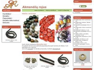 www.akmeneliai.eu – karoliukai ir detalės papuošalų vėrimui