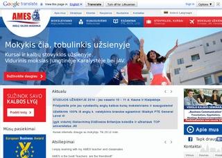 Anglų kalbos pamokos Vilniuje