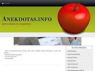Anekdotas.info – Kiekviena diena nauji anekdotai