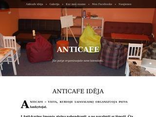 """Anti-kavinė """"Anti-cafe"""""""