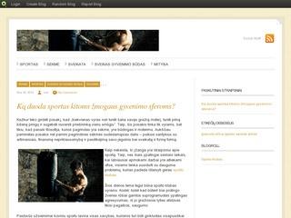 Sportas ir sveikas gyvenimo būdas | ApieSporta.blog.com
