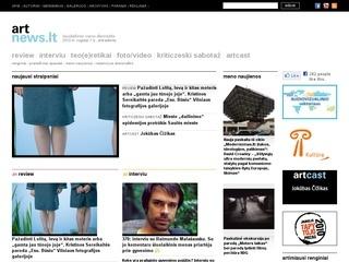 artnews.lt – šiuolaikinio meno naujienos