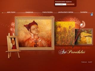 Autoriniai tapybos darbai – paveikslai