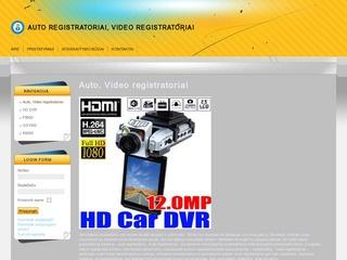 Video registratoriai