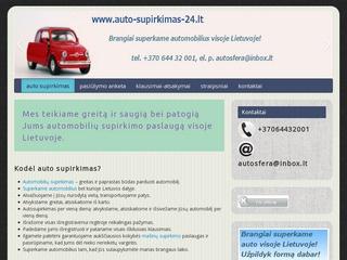 Automobilių supirkimas visoje Lietuvoje!