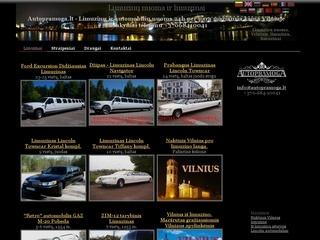 Autopramoga – limuzinų nuoma