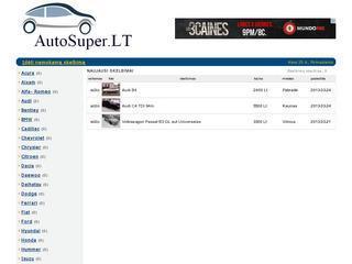 AutoSuper.LT – Nemokami automobilių skelbimai