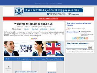 Didžiosios Britanijos verslo katalogas lietuviškai! – azCompanies.co.uk