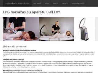 LPG masažas su aparatu B-FLEXY
