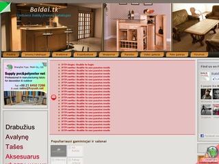 Baldai.tk – Lietuvos baldų įmonių katalogas