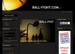 Naršyklinis krepšinio žaidimas BALL-FIGHT