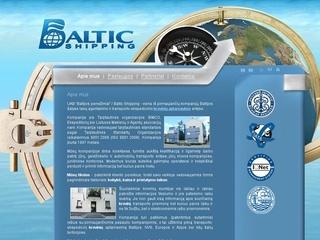 Baltic shipping, UAB