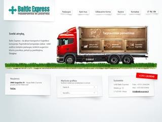 Baltic express, UAB