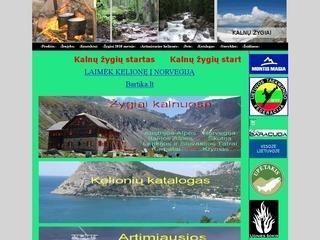 Turistinės ir sveikatingumo stovyklos kalnuose