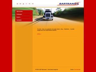 Kroviniai ir jų gabenimas – Bartransis, UAB