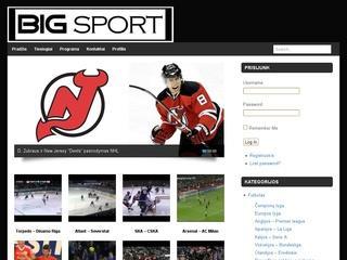 BIGsport – sporto apžvalgos ir naujienos