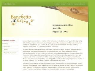 Banchetto musicale, tarptautinis festivalis