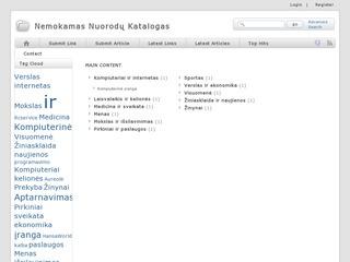 Web nemokamas svetainių katalogas
