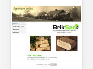 """Statybinės medžiagos, statyba, ekologiškas kuras – UAB """"Briksan"""""""