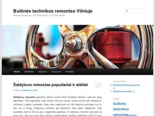 Buitinės technikos remontas Vilniuje
