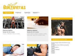 Puslapis apie sportą ir sveiką gyvenimo būdą