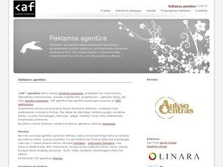 CAF, Reklamos agentūra