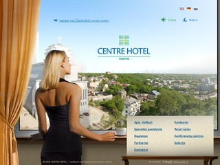 CentreHotel – viešbutis pačiame Kauno miesto centre