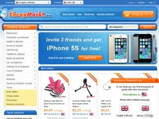 El. parduotuvė CheapMarkt.com