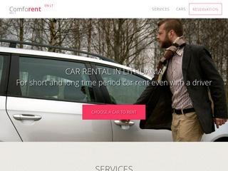 Comforent – automobilių nuoma Lietuvoje