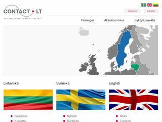 Verslo kontaktai Švedijoje