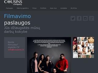 Filmavimo Paslaugos – Cousins company