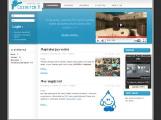 Cssource.lt – counter strike: source žaidimo serveris.