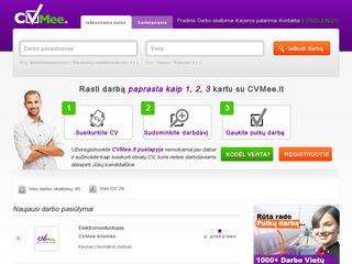 Naujas darbo skelbimų portalas Lietuvoje.