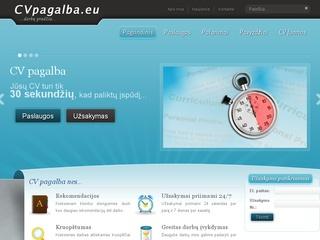 CVpagalba.eu – CV ir Motyvacinio laiško rašymo paslaugos.