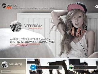 DEEPFROM – Muzikos radijas internete.