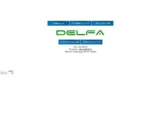 Delfa, UAB