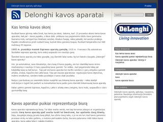www.delonghikavosaparatai.lt