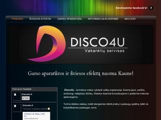 Garso aparatūros ir šviesos efektų nuoma – Disco4u