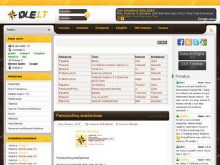 Datalife engine TVS lietuviška pagalba