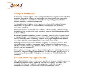 Dmad.lt – Marketingo Sprendimai
