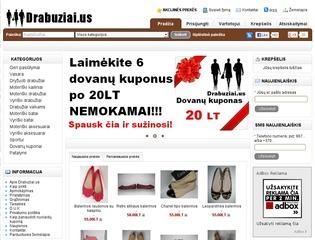 Drabuziai.us – drabužių elektroninė parduotuvė