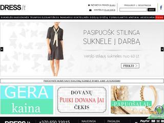 Suknelės Internetu – Dress.lt