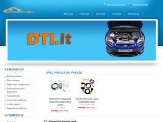 DTI – Diagnostinė transporto įranga