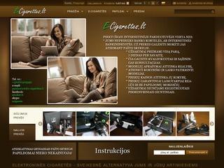 Elektroninių cigarečių parduotuvė internete